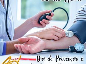 Dia 26 de abril, Dia Nacional de Combate a Hipertensão Arterial