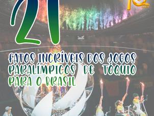 21 fatos incríveis dos Jogos Paralímpicos de Tóquio para o Brasil