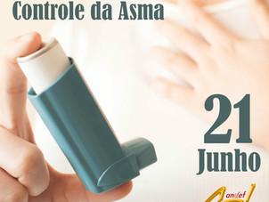 21 de Junho - Dia Nacional de Controle da Asma