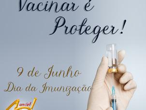 9 de Junho - Dia da Imunização: pandemia reforça a importância da vacinação