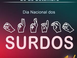 Dia Nacional dos Surdos, dia 26 de setembro