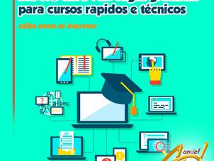 Senac abre 932 vagas gratuitas para cursos rápidos e técnicos