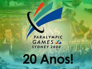 20 Anos - Paralimpídas de Sydney