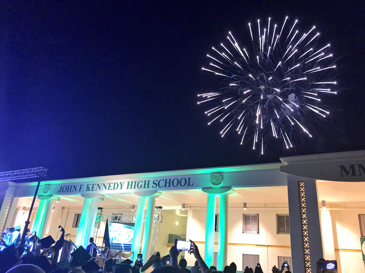 JFK Fireworks 2017