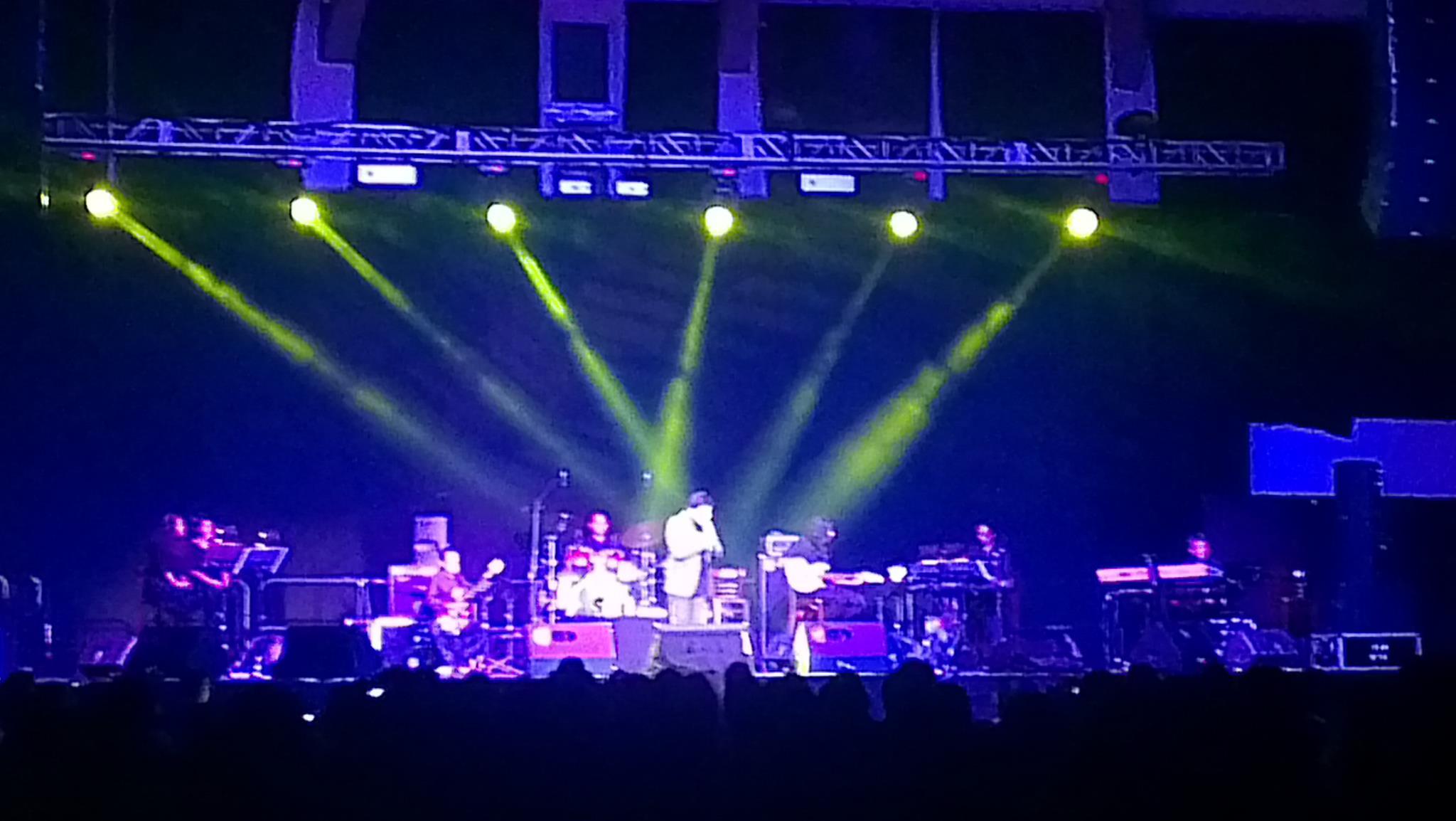 Concert at UOG FieldHouse 2012