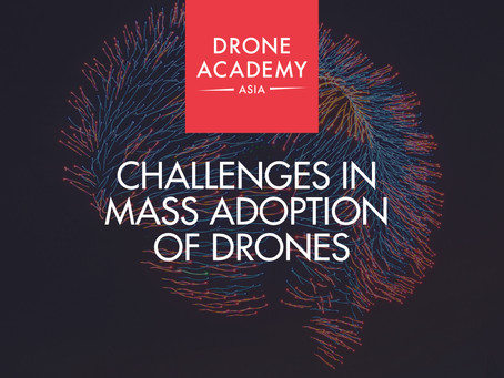 Challenges In Mass Adoption Of Drones