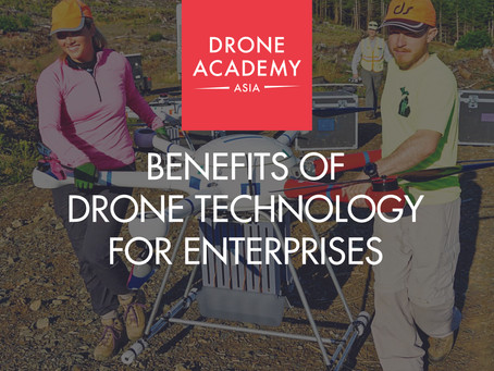 Benefits Of Drone Technology For Enterprises