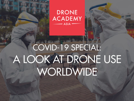 How Drones can be Used to Fight COVID-19