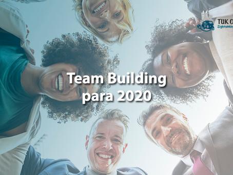 Comece a planear as atividades de Team Building de 2020