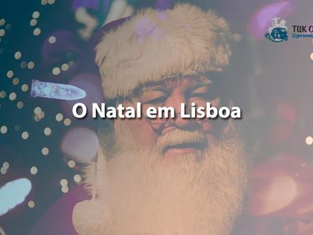 Desfrute da quadra natalícia em Lisboa