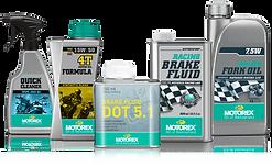 Lubrifiants, produits nettoyage, graisses Motorex