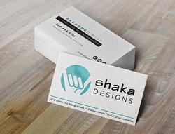 Shaka Designs Business Card