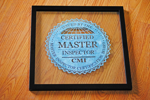 CMI® Certified Master Inpsector Logo Cut Paper