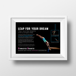 Gymnastics Unlimited Advertisment