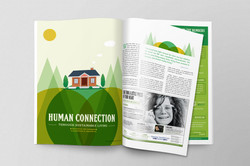 Editorial Cover Page Layout & Design