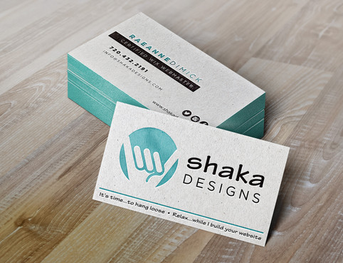 Shaka Designs Business Card