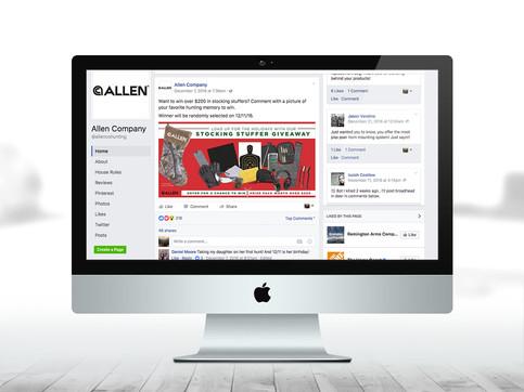 Allen Company FB Giveaway