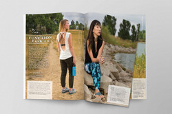 Fashion Page Layout & Design