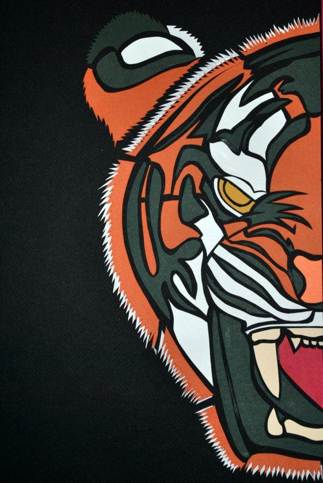 Tiger Cut Paper