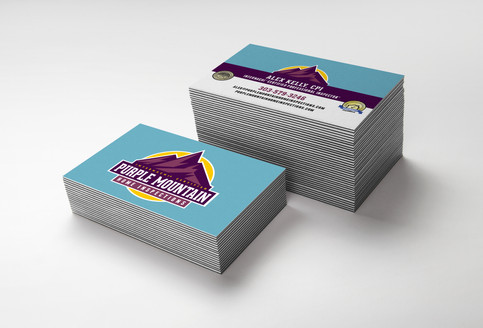 Purple Mountain Business Card