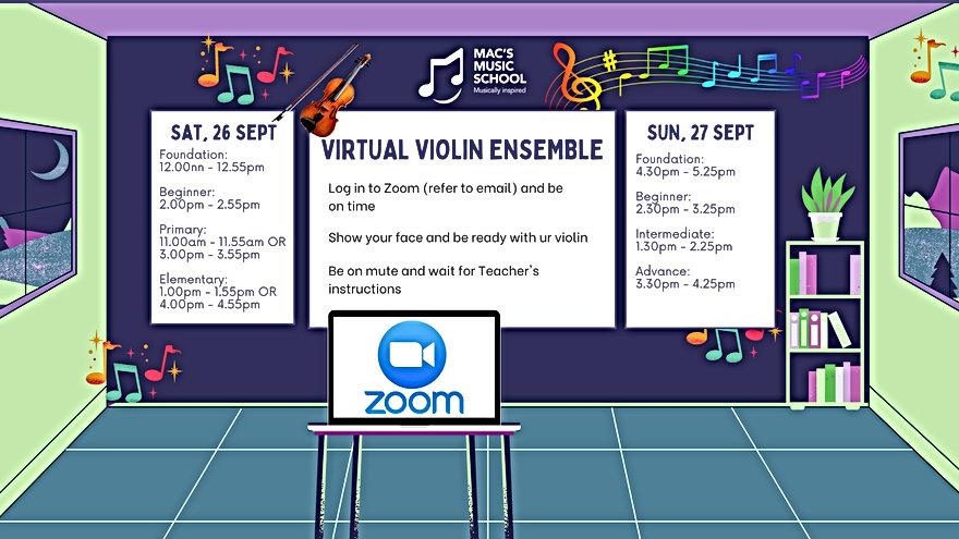 Violin Ens Schedule