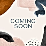 Coming Soon New Announcement Watercolor