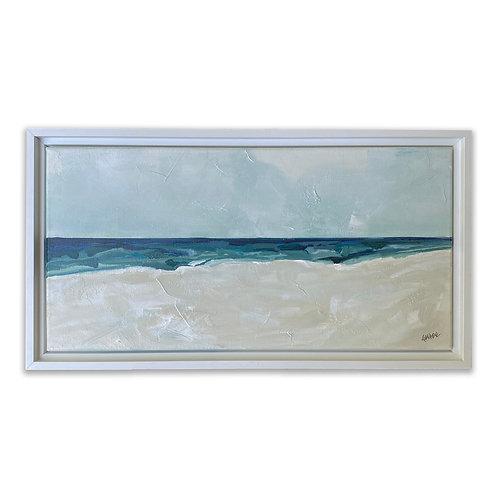 """""""White Sands 2"""" 10x20 Framed"""