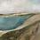 "Thumbnail: ""Sea of Galilee 3""  12x12"