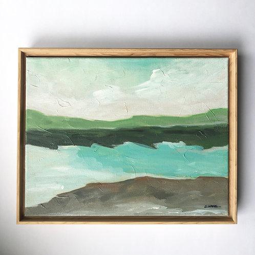 """""""Lake View"""" 11x14"""
