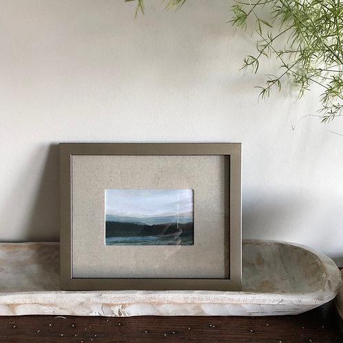 Mountains - Medium Framed Print