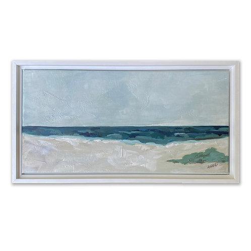 """""""White Sands 1"""" 10x20 Framed"""