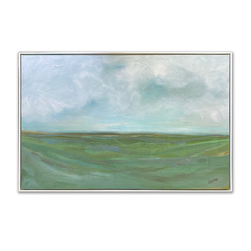 """Long View"" 24 x 36 Framed"