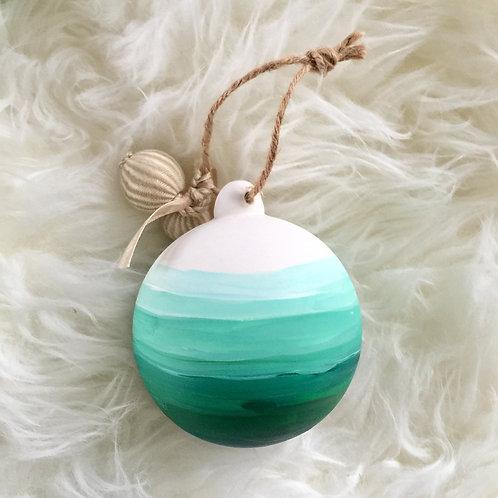 """Green Plains Ornament"""