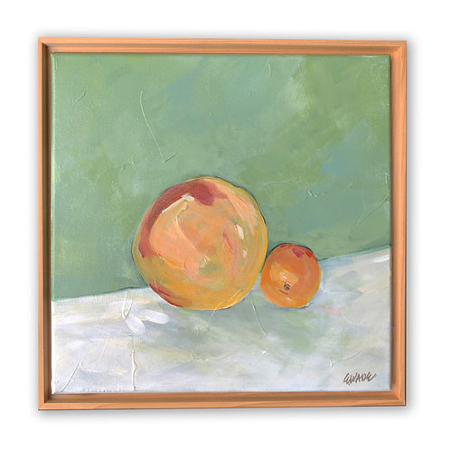 """""""Fresh Citrus Still Life"""" - 12x12"""