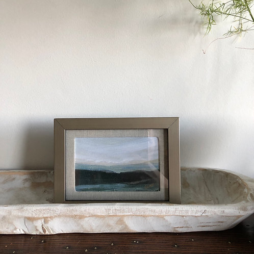 Mountains - Small Framed Print