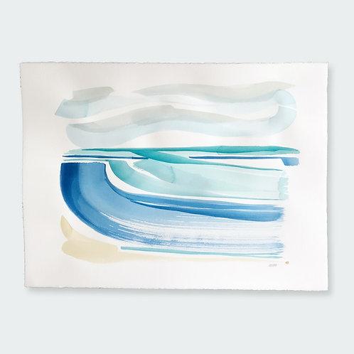 """Windy Waves 1"" Large 22 x 30"