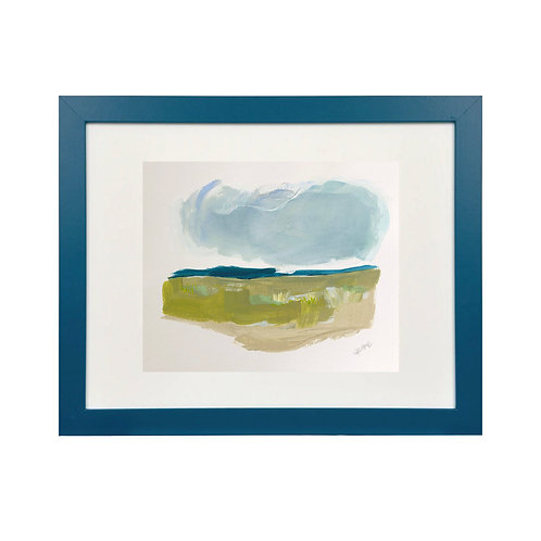 Color & Calm Series: Dark Teal 11x14