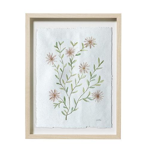 """Daisy Watercolor"" 16x20"