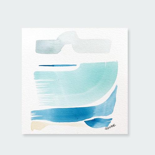 """""""Big Turquoise Wave 4"""""""