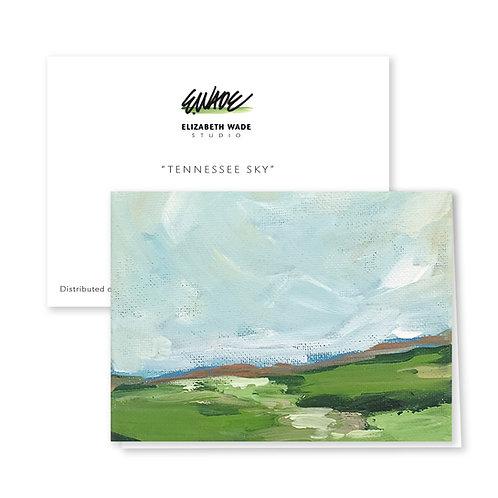 Landscape Notecard