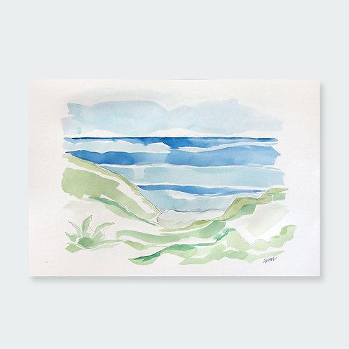 """Grayton Beach Morning"" 12x18"