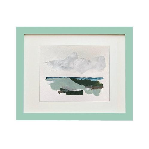 Color & Calm Series: Sage 11x14