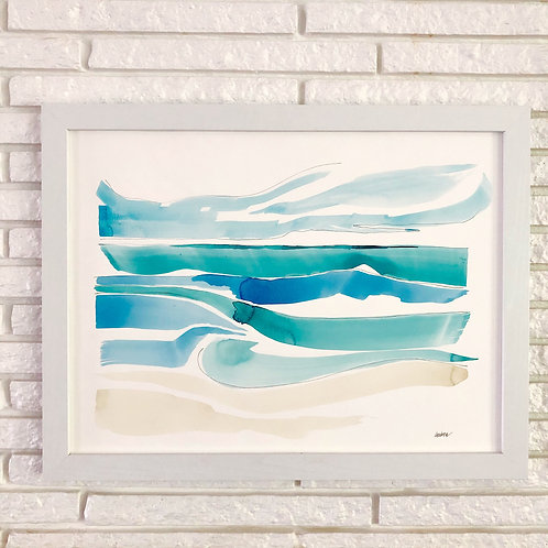 """Waves 1"" 18x24"