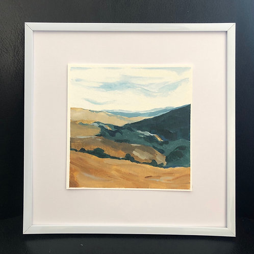 """Kate's View"" 5x5 Framed"
