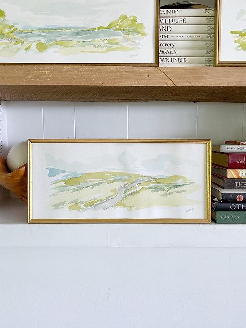 """""""Long Landscape 2"""" 17.5 x 8"""