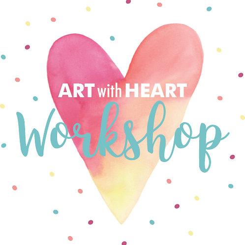 Valentine Art Workshop 3:30-5 PM
