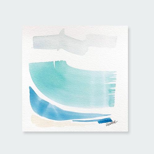 """""""Big Turquoise Wave 2"""""""