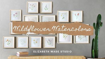 Wildflower Watercolors