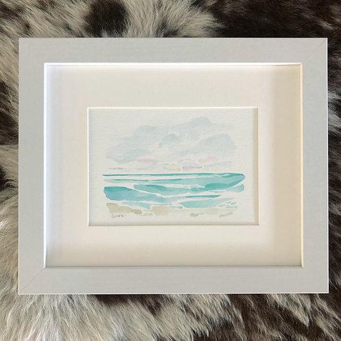 """""""On the Beach 3"""" 5x7 Framed"""