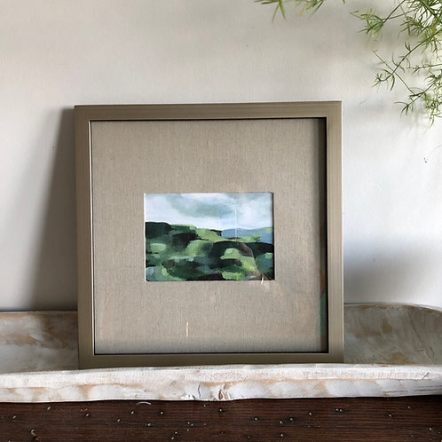 Abstract Hills - Large Framed Print